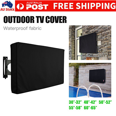 "30""-65"" Waterproof TV Television Cover Outdoor Patio Flat Television Protector"