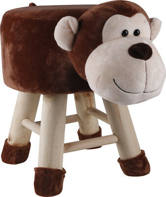 Kids Monkey Face Stool