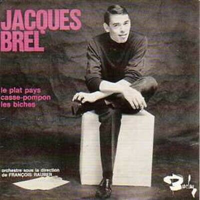 Jacques BREL	Le plat pays CARD SLEEVE 3 tracks	CD SINGLE			France	Neuf