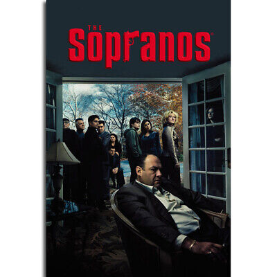 G106 Classic TV Series Show  The Sopranos Gangster Mafia Art Poster