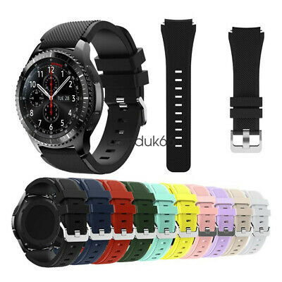 Silicone Sport Bracelet Watch Band Strap For Samsung Gear S3 Classic Frontier