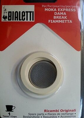 Bialetti Original Spare Kit for 1 Cup Moka Coffee Maker (Stove Top)
