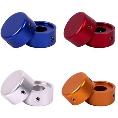 Electric Guitar Nail Effect Cap Step Pedal Foot Switch Knob Protector AluminumLA