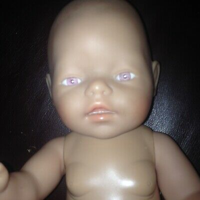 Baby Born Doll Pink Eyes Immaculate Condition