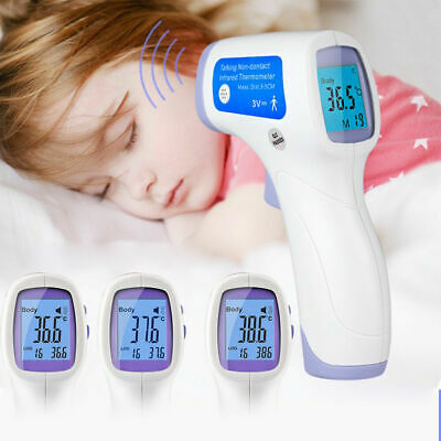Digital Thermometer No Contact Infrared Forehead Temperature Baby Kids Adult Pet