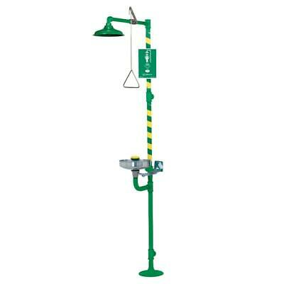 Haws 8300CRP-8309CRP  Corrosion-resistant, coated combination shower & eye/face