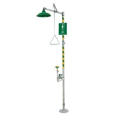 Haws 8317  Combination shower and eye/face wash with AXION MSR eye/face wash and