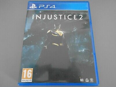 Injustice 2  PS4 PlayStation 4  DC character battle combat fighting  two II