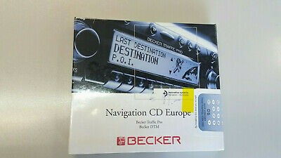 Navigation CD Europe 9.0 Becker Traffic Pro, Becker DTM