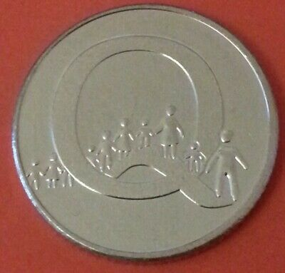 NEW A-Z 2019 ALPHABET 10p COIN HUNT LETTER Q -QUEUING UNCIRCULATED  F/sealed bag