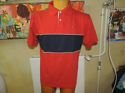 POLO HOMME TAILLE M TOMMY HILFIGER blanc