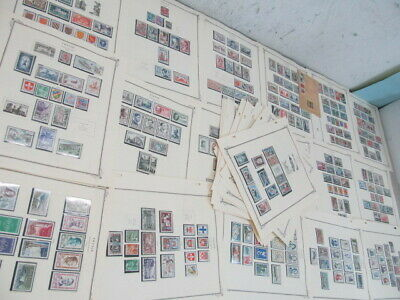 Nystamps France French much mint NH stamp collection Scott page