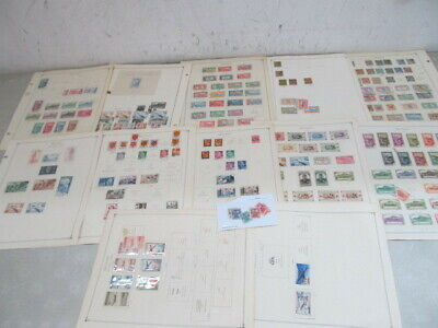 Nystamps France French & Reunion many mint stamp collection Album page