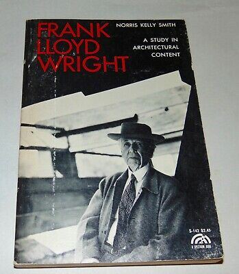 1966 FRANK LLOYD WRIGHT Norris Kelly Smith ILLUSTRATED
