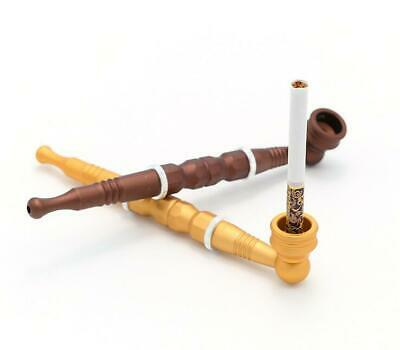 Dual use Long Pipe Metal Filter Cigarette Tobacco Smoking Pipe Herb Pipes