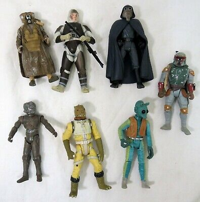 """Kenner Star Wars Power of the Force Bounty Hunter Lot 3.75"""" Figure"""