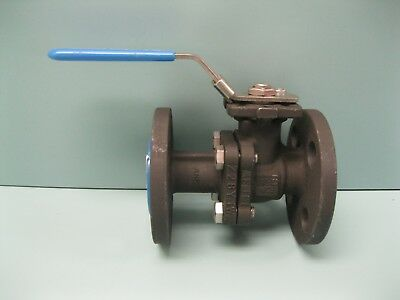 "1/2"" 150# J-Flow Controls WCB Ball Valve NEW L13 (2299)"