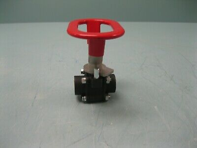 "1/2"" NPT Flowserve Worcester 1480# CWP CS Ball Valve NEW L14 (2435)"