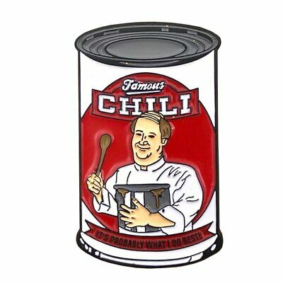 The Office  Kevin's Famous Chili Enamel Pin