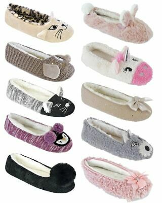 Womens Ladies Undercover Soft Comfy Ballet Pumps Ballerina Slippers