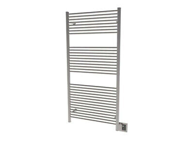 """Amba A-2856  Antus 31-1/2"""" W x 58-3/8"""" H 110 V Hardwired Stainless Steel Towel"""