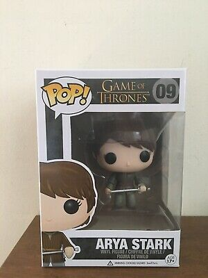 Game Of Thrones Arya Stark Funko Pop Vinyl Figure #09 New