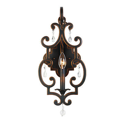 Kalco 2631AC  Montgomery 1 Light ADA Compliant Wall Sconce - Copper