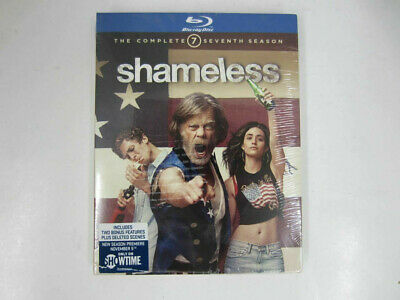 SHAMELESS TV SERIES COMPLETE SEVENTH SEASON 7 New Sealed Blu-ray