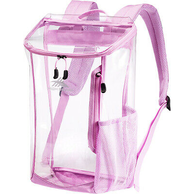 High Sierra Clear Toploader Backpack 4 Colors Everyday Backpack NEW