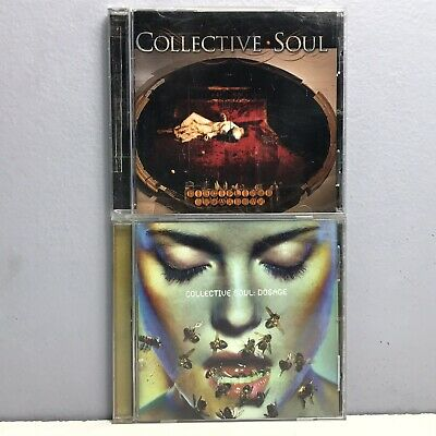 Collective Soul CD Lot Disciplined Breakdown Dosage 2 Compact Discs Nearly New