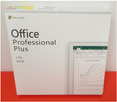 Microsoft Office 2019 Professional Plus Genuine Retail License Key