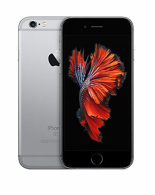 Apple iPhone 6s - 64GB - Space Gray (Unlocked) A1633 (CDMA + GSM) Good Condition