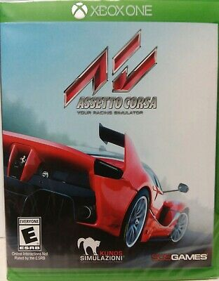 Assetto Corsa *Microsoft *Xbox*One*2016* Brand*New*Factory*Sealed
