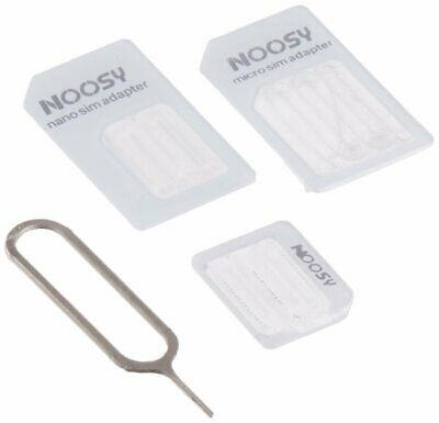 SIM CARD ADAPTER FOR Android&IOS 4 IN 1 PACK NANO MICRO STANDARD ADAPTOR B000.13