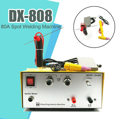 DX-808 220V pulse Spot Welding Machine Portable Handheld Miniature fender welder