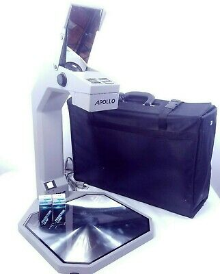 Apollo Overhead Projector Cobra VS 3000A Tested Working w/ Case and Lights