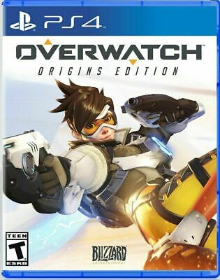 OVERWATCH Origins Edition, Blizzard Entertainment, PlayStation 4 PS4 Brand New