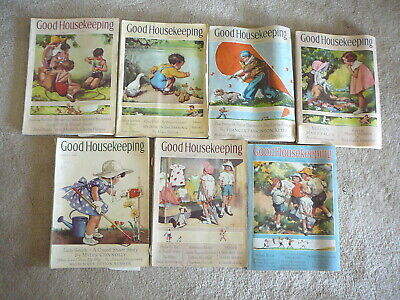 Good Housekeeping Magazine - 7 Issues 1936 & 1937 - Ads Scrapbooking - Lot #60