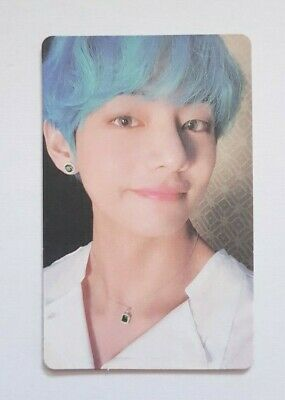 """K-POP BTS V Official Photocard - Official 2019 New """"MAP OF THE SOUL : PERSONA"""""""
