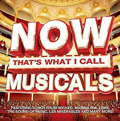 Now Thats What I Call Musicals, Various Artists, Used; Very Good CD