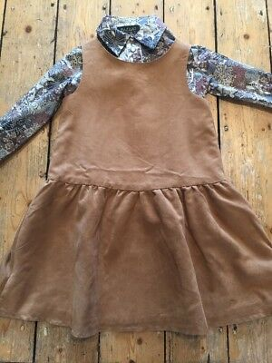 H&M Liberty Print Pinafore & Blouse Bazaar D'etoiles  7-8 Yrs Stunning!! Rrp £67