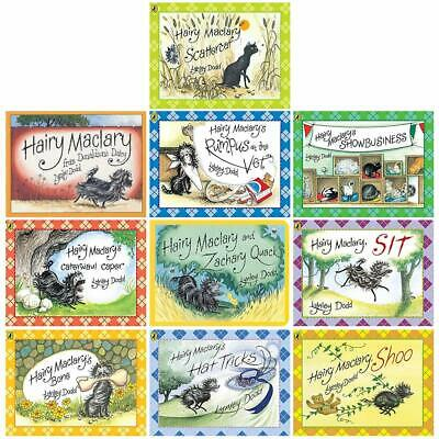 Lynley Dodd Hairy Maclary and Friends Series 9 Books Collection Set Paperba NEW