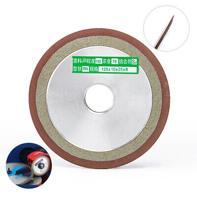 125mm Diamond Grinding Wheel Grinder For Carbide Metal Alloy Milling Cutter Tool