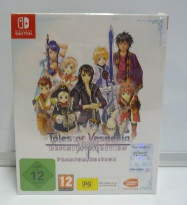 Tales Of Vesperia Definitive Edition Premium Collector Switch New Sealed Pal Uk