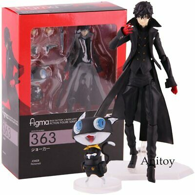 Figma 363 Persona 5 Action Figure Shujinkou and Morgana Joker PVC New In Box