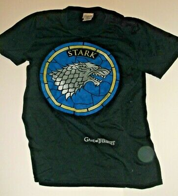 """Game Of Thrones """"Stark"""" Small Sized Tee Shirt- Unworn Condition- No Reserve."""