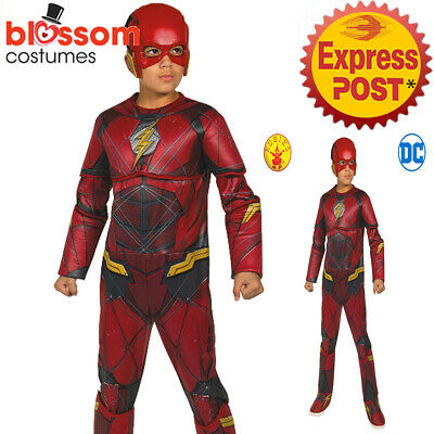 CK1498 Deluxe The Flash Muscle Chest Boys Child Superhero Hero Book Week Costume