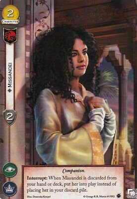A Game Of Thrones - 2nd Edition LCG - Alt Art Promo - Missandei