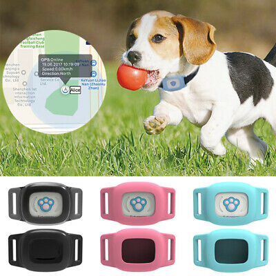 Waterproof Pet Collar GPS Tracker Cat Dog Anti-Lost Real Time Tracking Locator