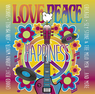 CD Love, Peace & Happiness Tribute to Woodstock